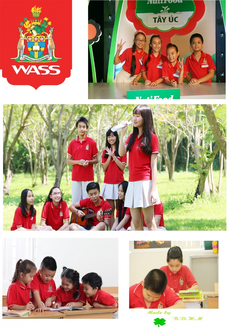 Học tập tại WASS - Nguồn: Sưu tầm