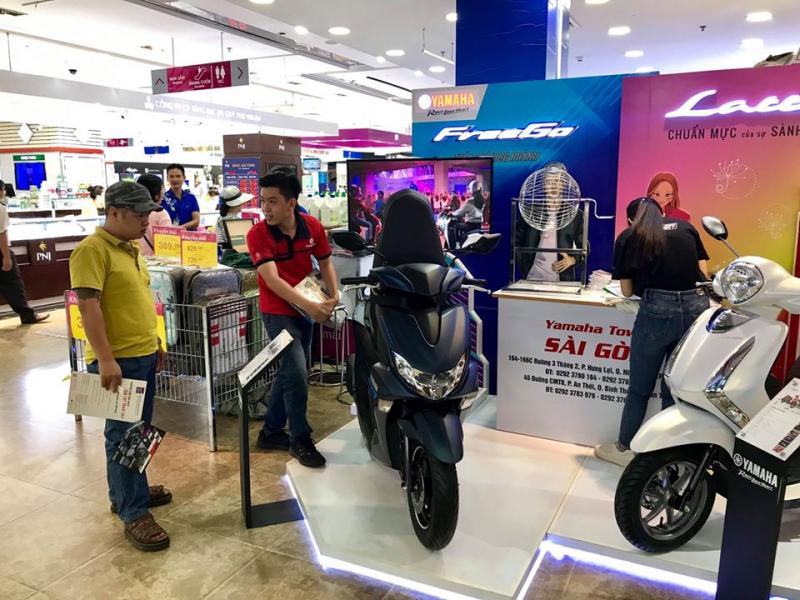 Hệ Thống Xe Máy Yamaha Sài Gòn