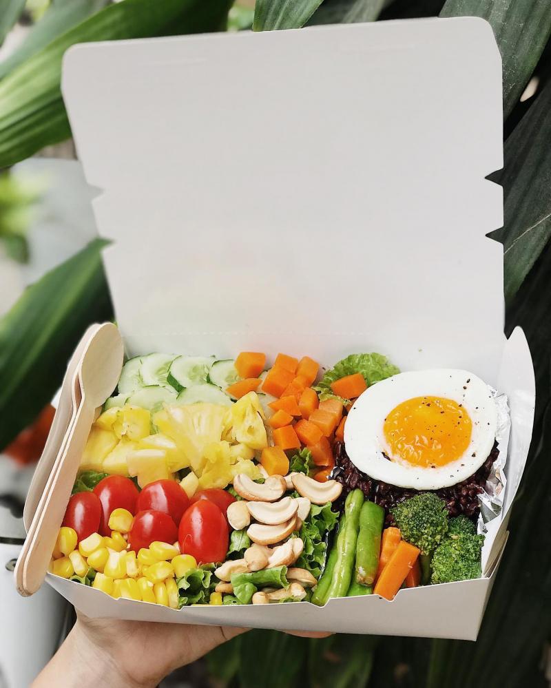 Thực đơn xanh của Healthy Meal