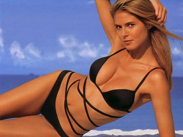 Nét quyến rũ của siêu mẫu Heidie Klum dù đã U50