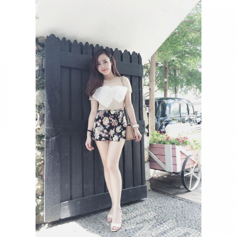 Vóc dáng gần như hoàn hảo của cô nàng Helen Thanh Thảo