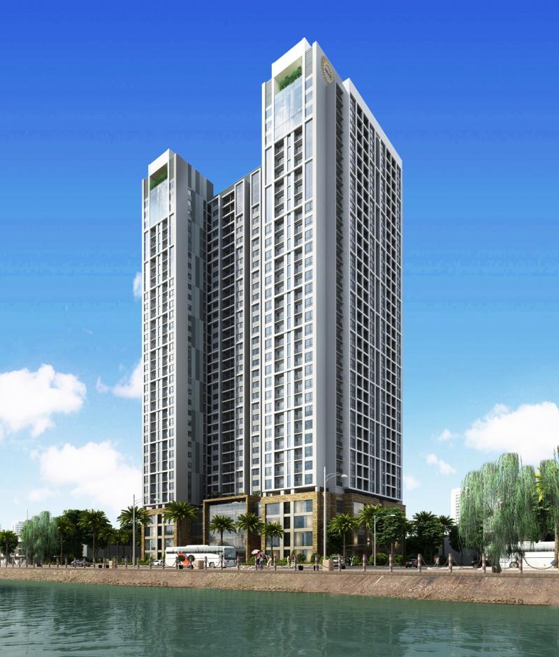 Dự án nằm tại số 75 Tam Trinh, quận Hoàng Mai, Hà Nội