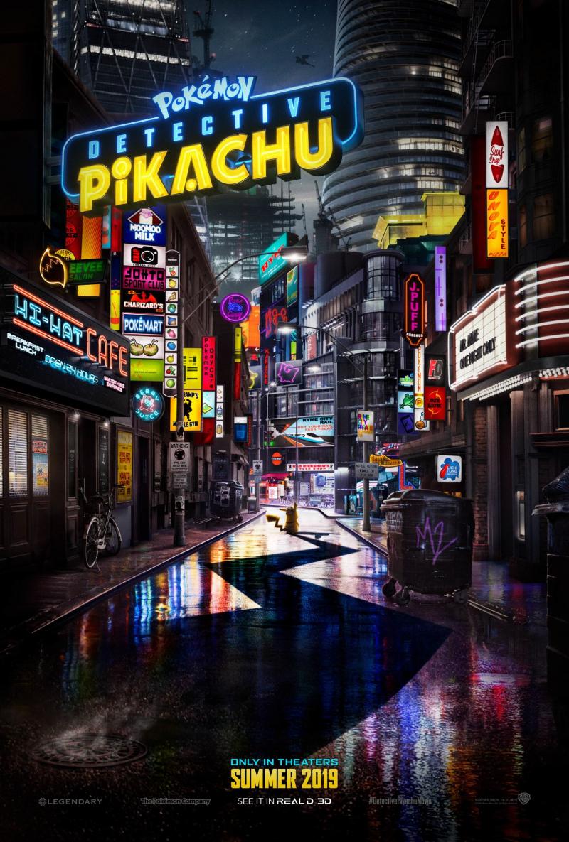 Pokémon Detective Pikachu - 10/05/2019