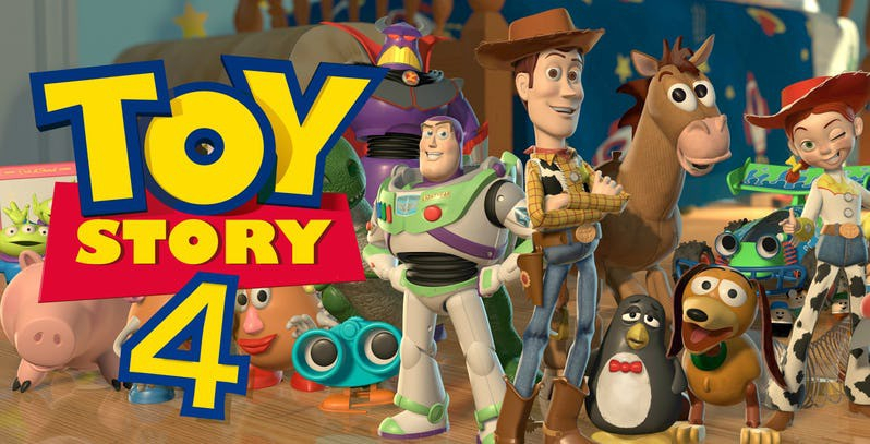 Toy Story 4 - 21/06/2019