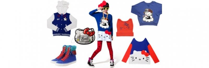 Thời trang của Hello Kitty siêu dễ thương