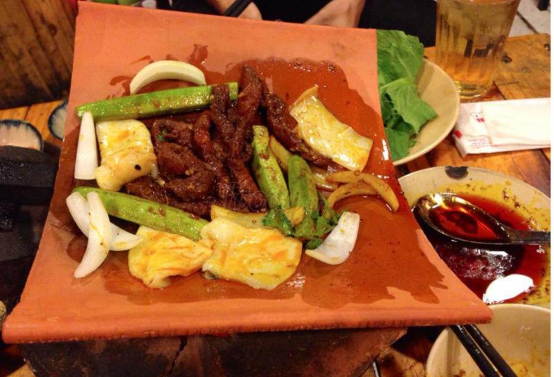 Món ăn tại Hẻm 245 Nguyễn Trãi – quận 1