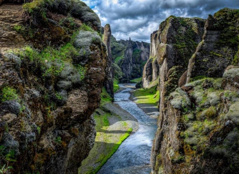 Hẻm núi Fjaðrárgljúfur