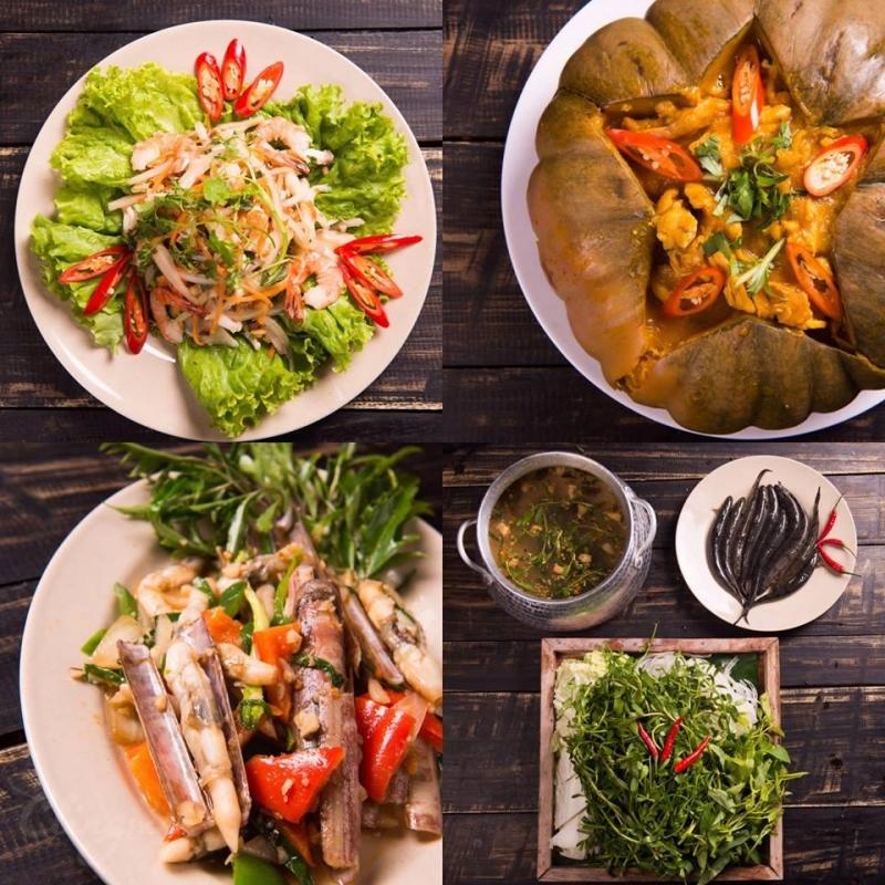 Nhưng những món ăn dân tộc ở đây thì luôn chuẩn vị và gợi nhớ về những gì xưa cũ.