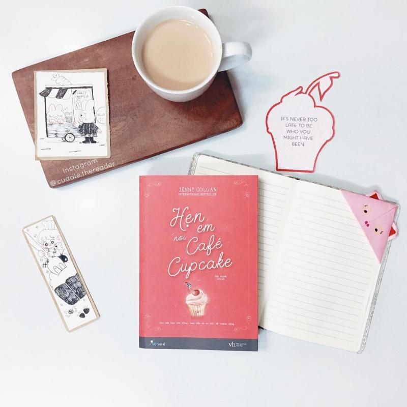 Cuốn sách Hẹn em nơi cafe cupcake