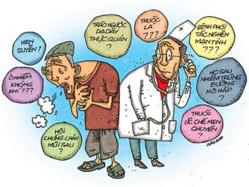 Ho là một biểu hiện thường thấy của hen suyễn dị ứng