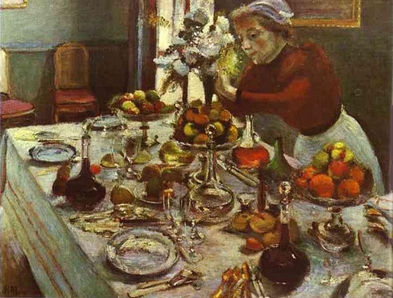 Bức tranh The Dinner Table