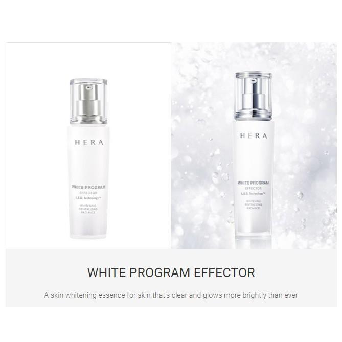 HERA White Program Effector