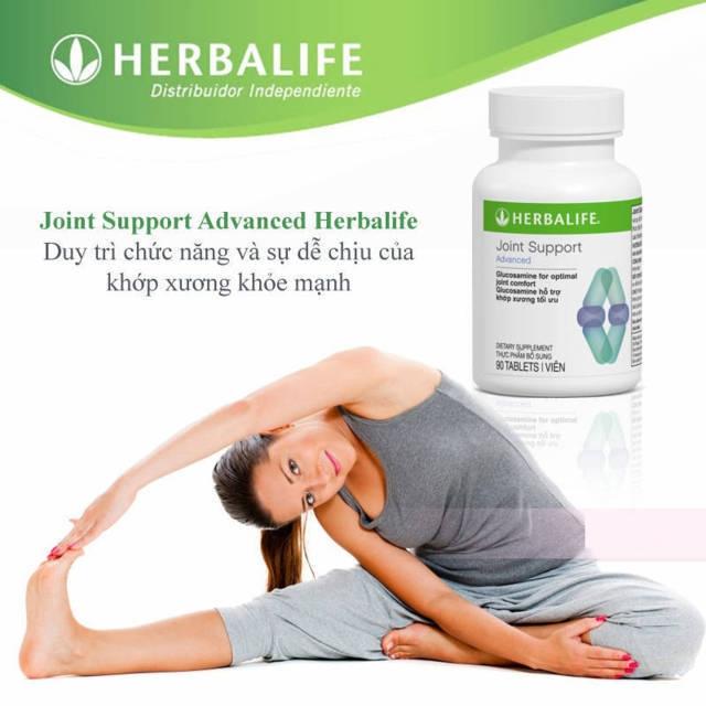 Herbalife Joint Support Advanced duy trì chức năng và sự dễ chịu của khớp xương khỏe mạnh