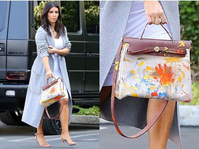 Chiếc túi xách thuộc thương hiệu Hermes
