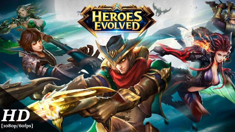 Tận hưởng niềm vui cùng Heroes Evolved