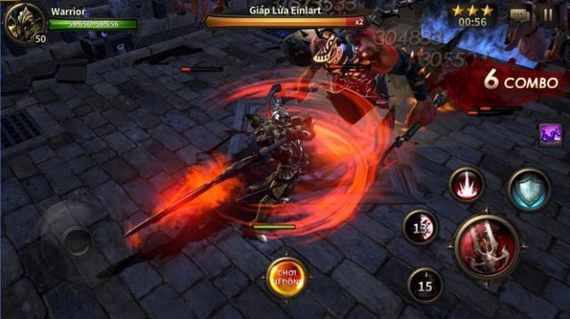Giao diện game Heroes of Incredible Tales