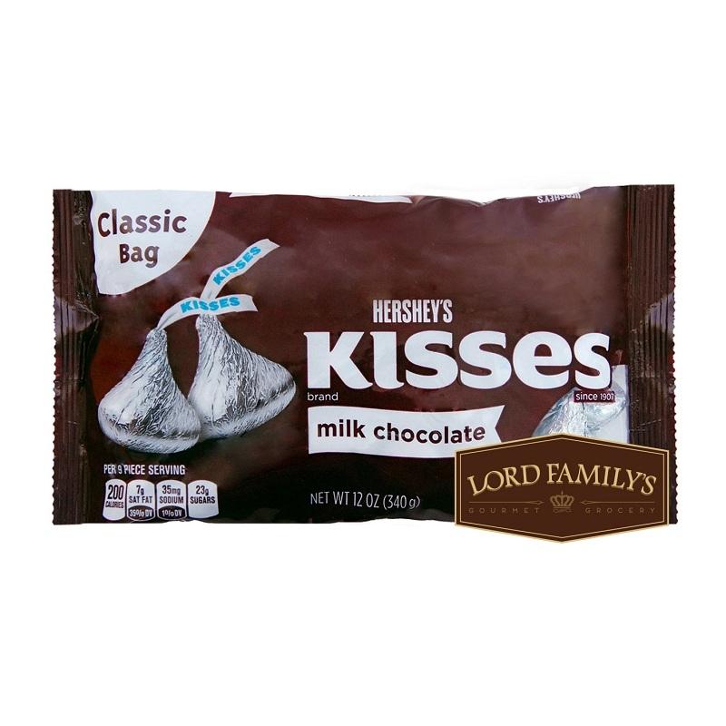 Socola sữa Kisses của Hershey's có giá khoảng 150.000VND (340g)