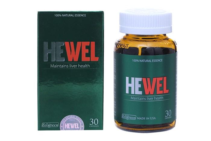 Viên uống HEWEL tăng cường giải độc, chống độc, bảo vệ gan