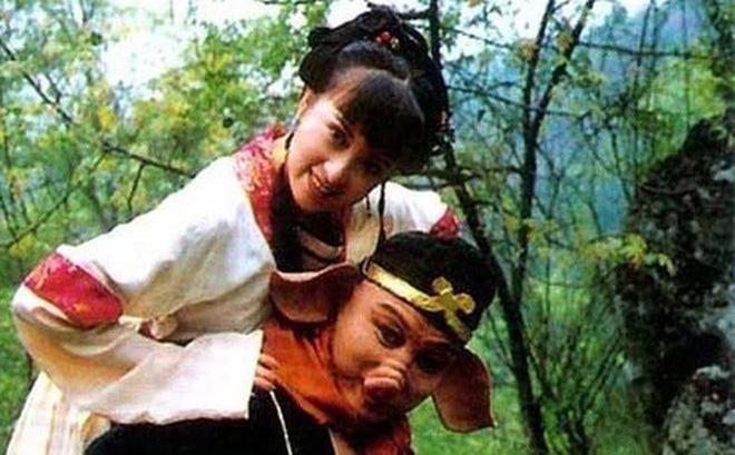 Trư Bát Giới và vợ Cao Thúy Lan trên phim.