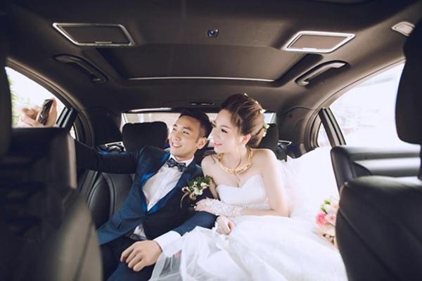 Ảnh cưới của cô nàng