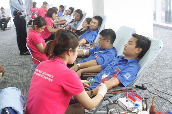 Hiến máu nhân đạo - một nghĩa cử đẹp của đoàn viên thanh niên