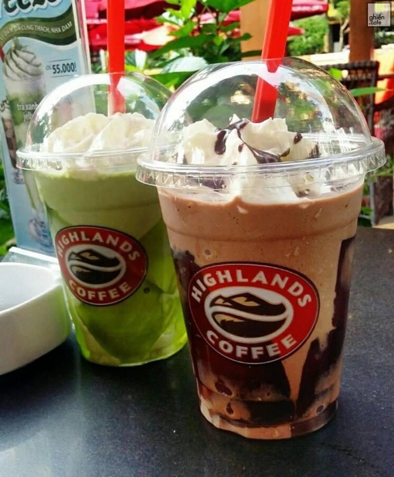 Đồ uống tại Highlands Coffee