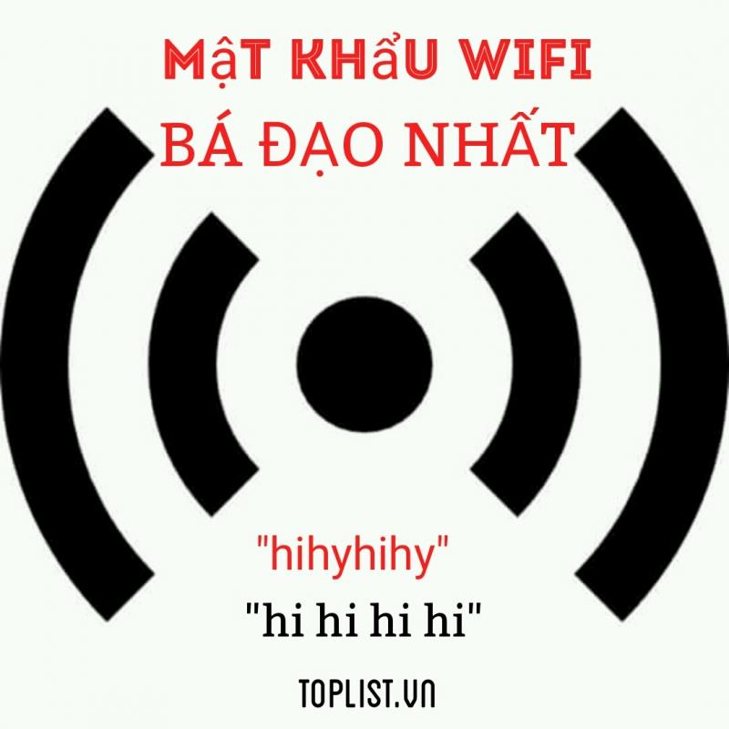 Rút điện thoại ra hỏi ẻm password wifi, ẻm cứ hihihihi.