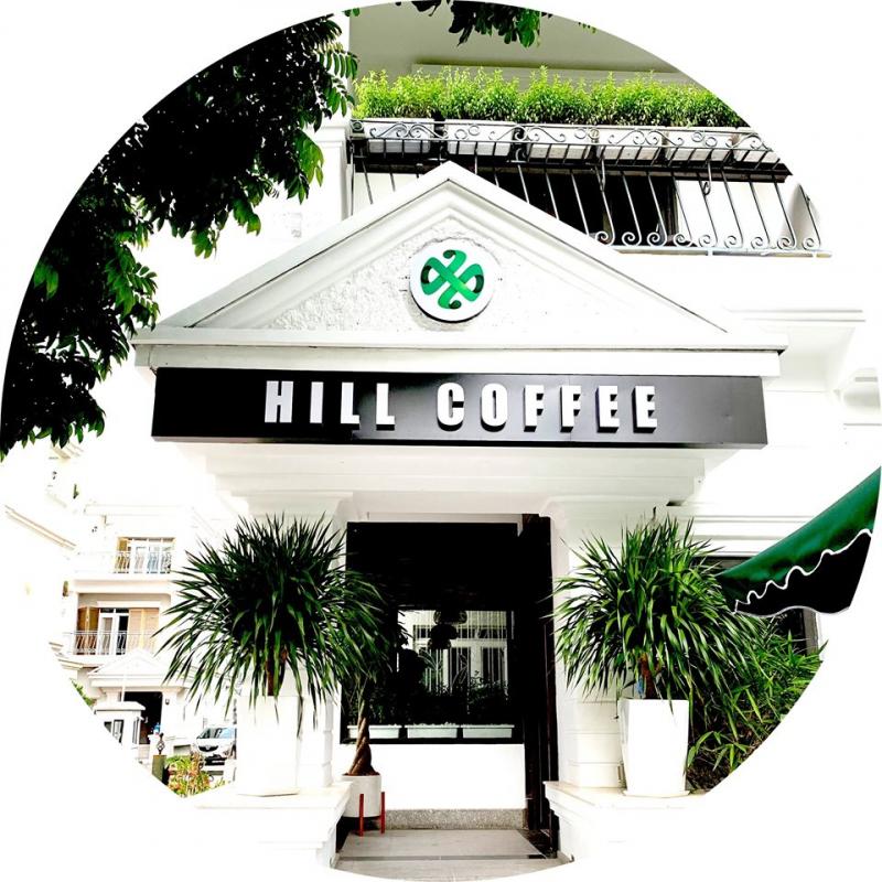 Không gian của Hill Coffee