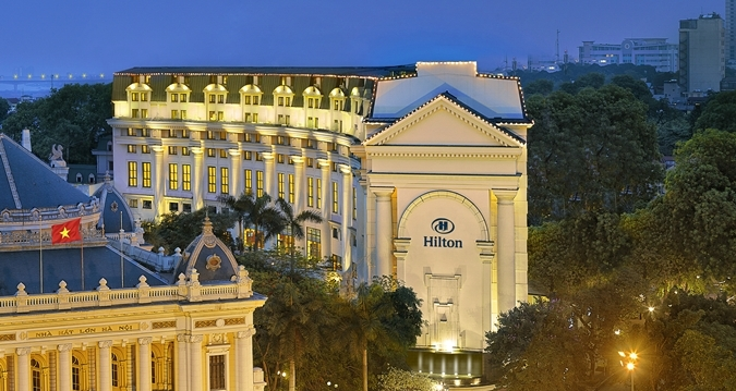 Hilton Hanoi Opera Hotel - Hotel Exterior