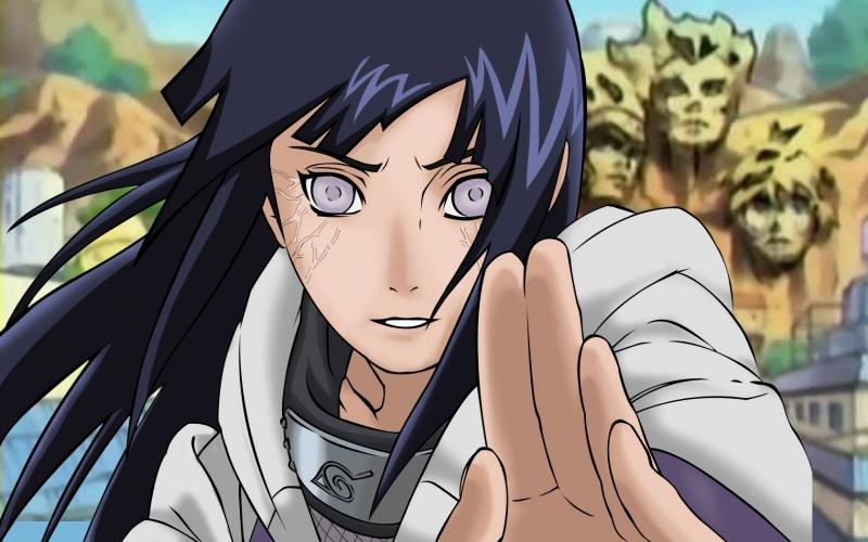 Cô sở hữu huyết kế giới hạn Byakugan