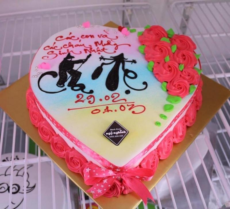 Hình ảnh bánh sinh nhật dành tặng cho mẹ