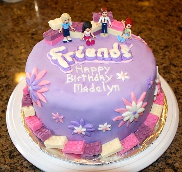 Hình ảnh bánh sinh nhật dành tặng cho bạn bè