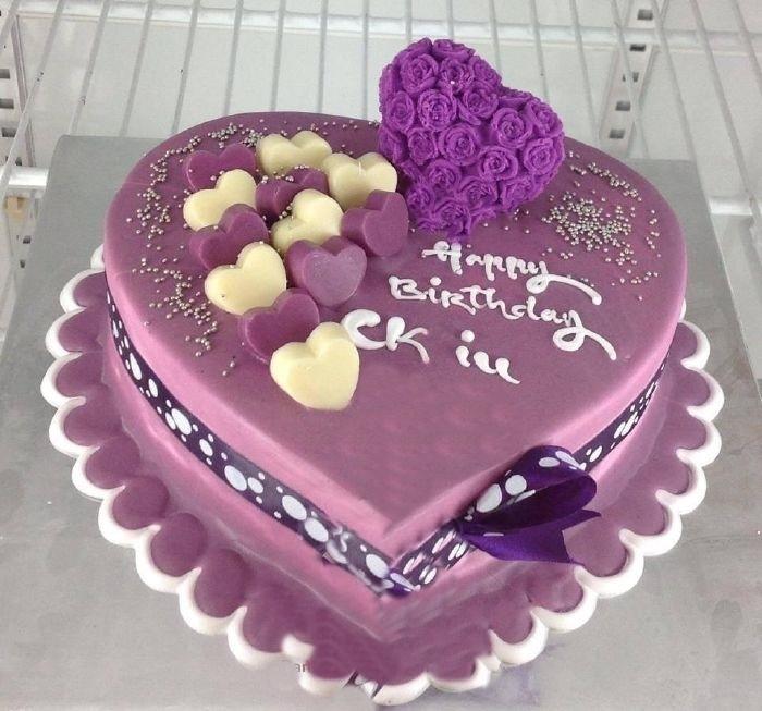 Hình ảnh bánh sinh nhật dành tặng cho chồng yêu