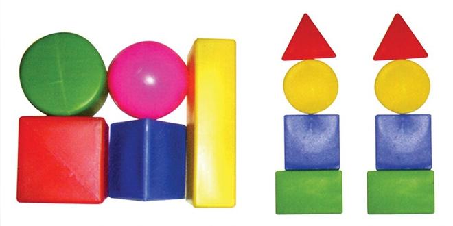 Đồ chơi an toàn cho bé – hình khối