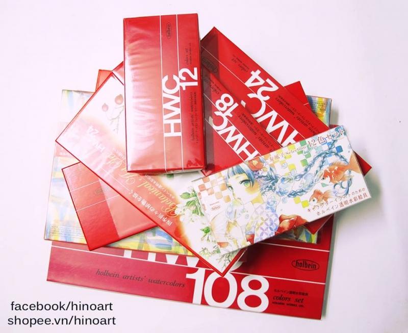Màu HolBein được giới thiệu tại Hino Art