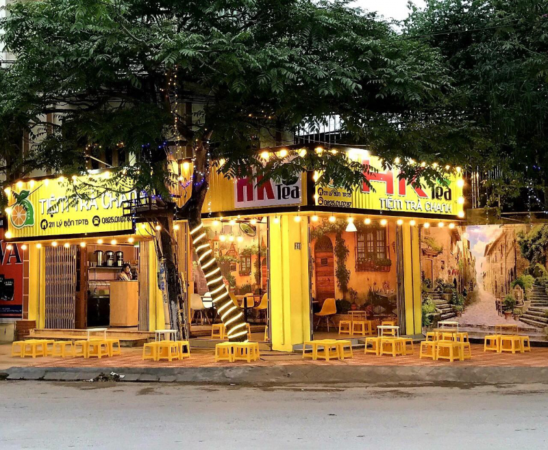 HK Tea - Tiệm Trà Chanh Thái Bình