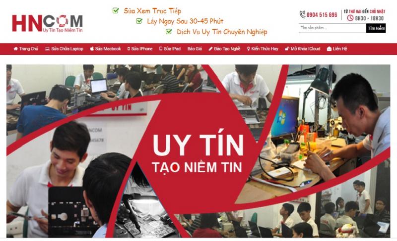 Website chính thức của HNCOM