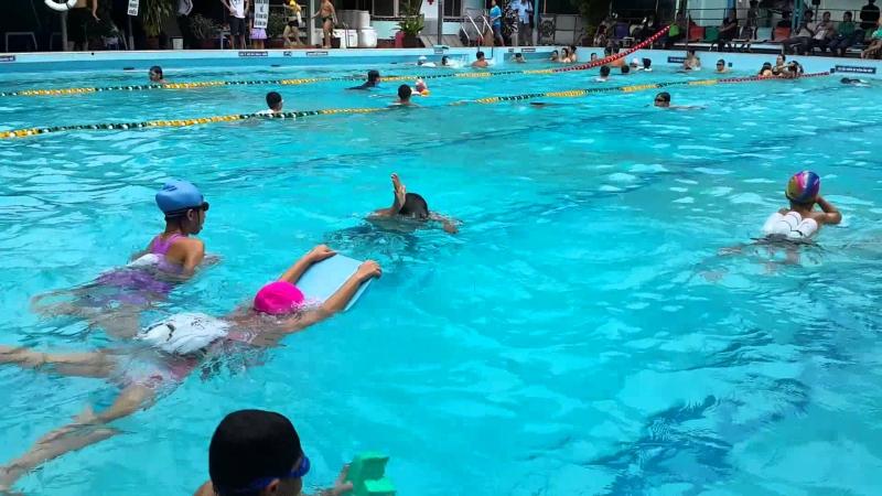 Bể bơi Kỳ Đồng được rất nhiều người yêu thích