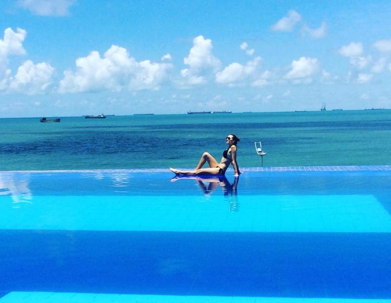 Hồ bơi tại Léman Cap Vũng Tàu