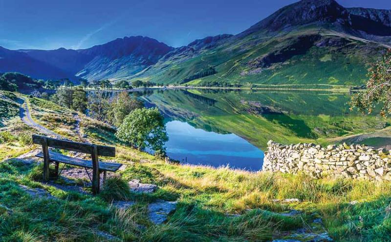 khung cảnh yên bình của Lake District