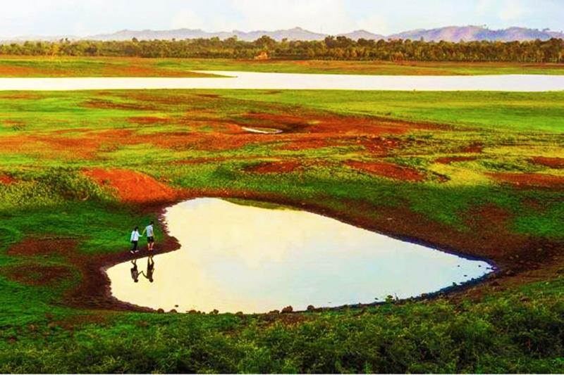 Một góc nên thơ của hồ Ea - Kao
