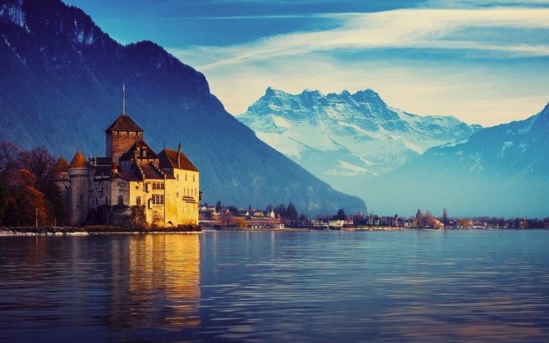 Hồ Geneve hay còn được người quen gọi là hồ Léman hay Hồ Chanh