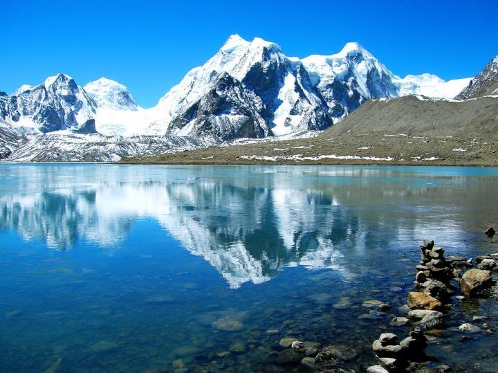 Hồ Gurudongmar là hồ nước có phong cảnh đẹp bậc nhất ở Ấn Độ