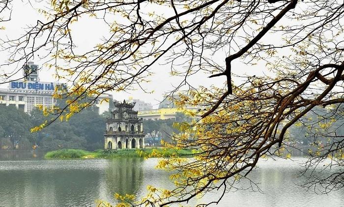 Hồ Hoàn Kiếm (nguồn internet)