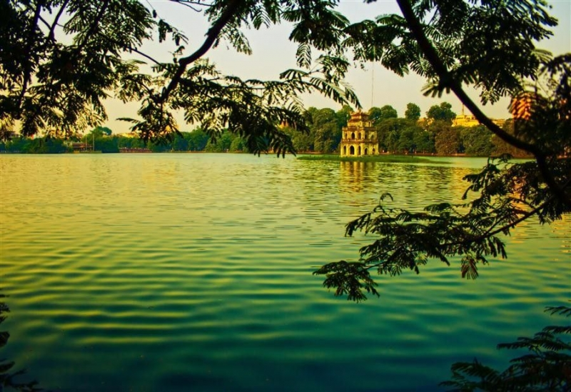 Một góc Hồ Gươm