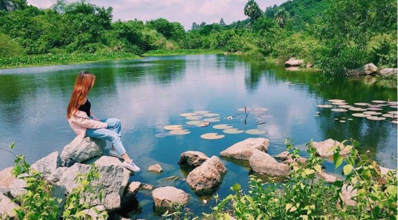 Hồ Latina, điểm đến thu hút giới trẻ