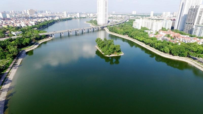 Hồ Linh Đàm - quận Hoàng Mai