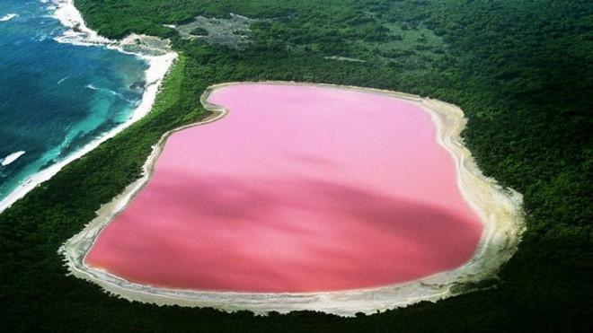Hồ màu hồng – Australia