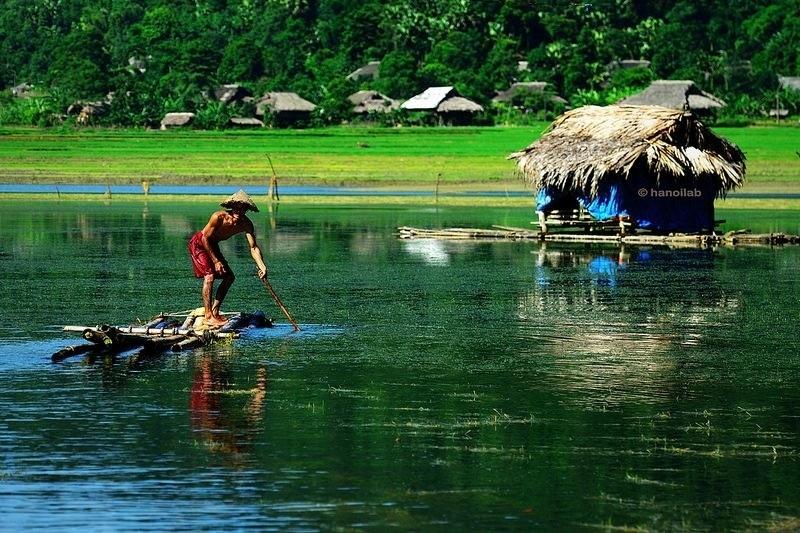 Hồ Noong - đôi mắt của rừng