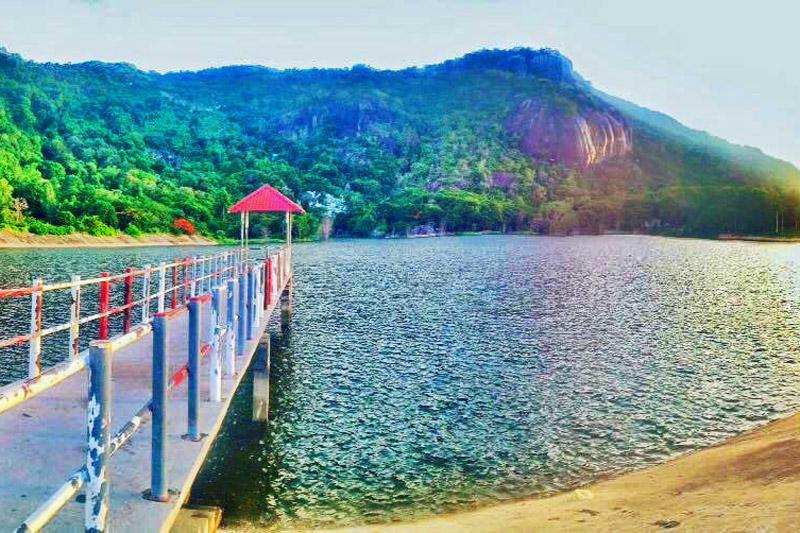 Phong cảnh hữu tình tại hồ Soài So